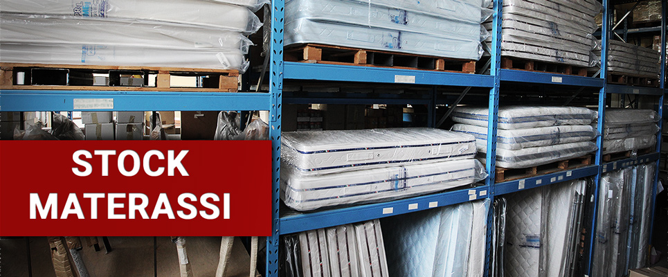 Magazzino Stock-Materassi-Outlet